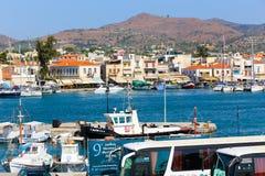 Aegina Grekland Royaltyfria Foton