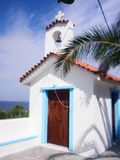 Aegina, Griechenland-Kapelle Lizenzfreies Stockbild