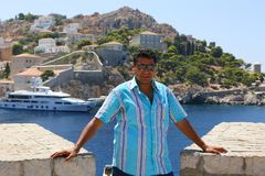 Aegina-Insel - Griechenland Lizenzfreie Stockbilder