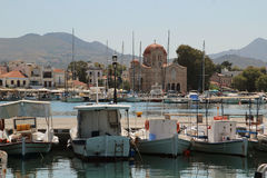 Aegina island, Greece Royalty Free Stock Photos