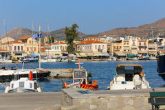 Aegina Island - Greece. Panorama of Aegina Greece Island Royalty Free Stock Photography