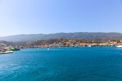Aegina Island - Greece. Panorama of Aegina Greece Island Stock Image
