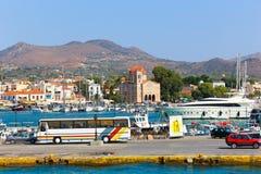 Aegina wyspa - Grecja Fotografia Stock