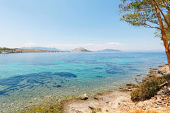 Aeginitissa in Aegina, Greece Stock Photography
