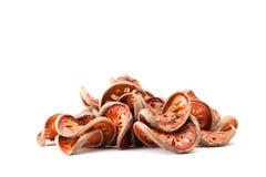 Aegle-marmelos oder Bael-Frucht Lizenzfreie Stockfotos