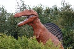 Aegyptiacus de Spinosaurus - de Spinosaurus Fotos de archivo libres de regalías