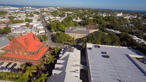 Aeiral Mallory Square Key West 4k stock videobeelden