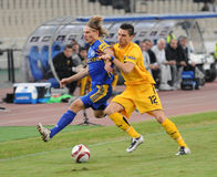AEK Athens - BATE Borisov Stock Images