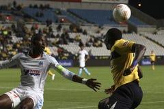 Ael gegen Marseille Lizenzfreies Stockbild