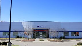 AEL Medical Testing Laboratory Memphis, TN royalty-vrije stock afbeelding