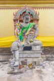 Aemon king statue sitting with cutlass in  the hand. Under sunlight Stock Photo