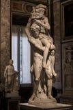 Aeneas, Anchises en Ascanius door Gian Lorenzo Bernini Royalty-vrije Stock Foto