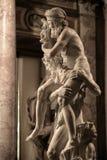 Aeneas, Anchises et Ascanius par Gian Lorenzo Bernini Photographie stock libre de droits