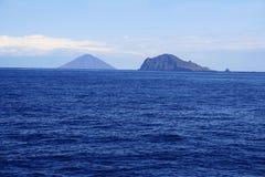 aeolian öar italy Fotografering för Bildbyråer