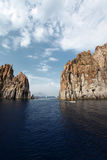 Aeolian islands Royalty Free Stock Photos