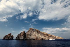 Aeolian Islands. Detail of the Aeolian Islands, Italy Royalty Free Stock Photography