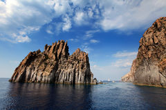 Aeolian islands Stock Image