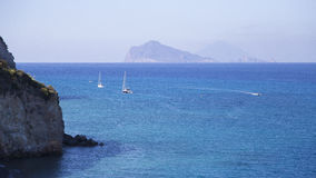 Aeolian Islands. Foto varie delle isole Eolie Royalty Free Stock Images