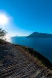 Aeolian islands from Lipari. Stock Images