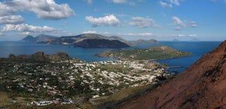 Free Aeolian Islands Seen From Vulcano Island, Sicily, Stock Image - 23054521