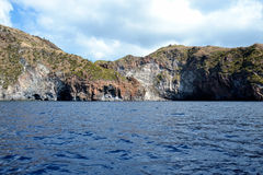 Aeolian islands - Sicily Stock Image