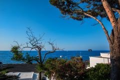 Aeolian islands Royalty Free Stock Photo