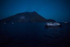 Aeolian islands stock photography