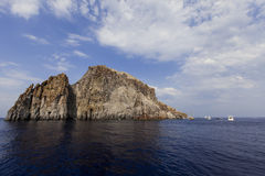 Aeolian islands Royalty Free Stock Photos