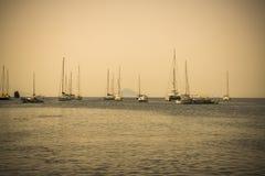 Aeolian sea landscape Stock Photography