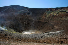 aeolian vulcano островов стоковые фотографии rf