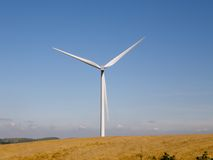 Aeolian windmill Stock Photos