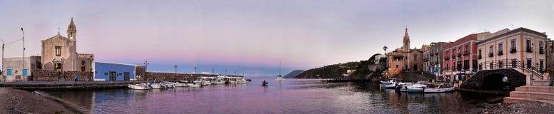 Aeolien wyspy Zdjęcia Stock