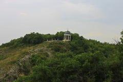 Aeolus竖琴夏令时 Pyatigorsk地标和纪念碑 免版税库存图片