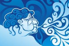 aeolus royalty ilustracja