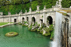 Aeolus Fountain, Caserta Garden Royalty Free Stock Photos