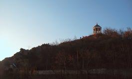Aeolus-Harfe in Autumntime Marksteine und Monumente Pyatigorsk Lizenzfreies Stockfoto