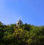 Aeolus-Harfe in der Sommerzeit Marksteine und Monumente Pyatigorsk Lizenzfreies Stockfoto