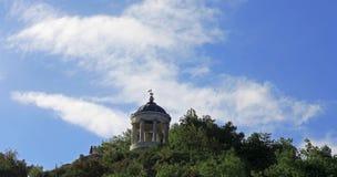 Aeolus-Harfe in der Sommerzeit Marksteine und Monumente Pyatigorsk Stockfotografie