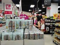 AEON supermarket Stock Photography
