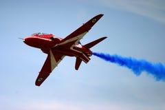 Aeorobatic Anzeigenteam der roten Pfeile Stockfotos
