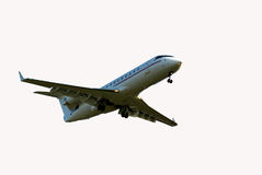 aeorplane ουρανός Στοκ φωτογραφία με δικαίωμα ελεύθερης χρήσης