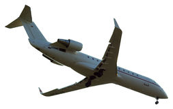 Aeorplane a isolé Photos libres de droits