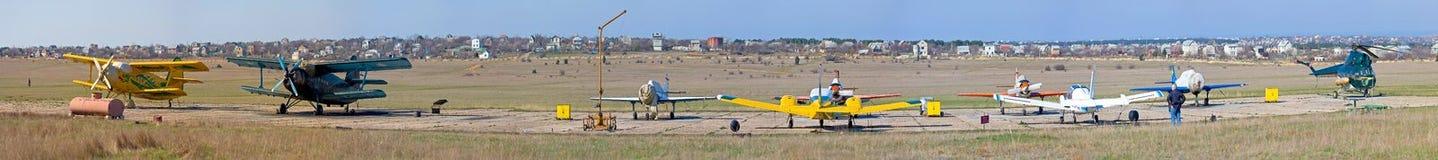 Aeródromo foto de stock