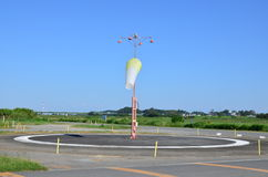 Aeródromo de Honda Fotografia de Stock