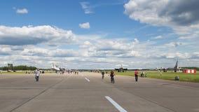 Aeródromo de Kubinka Foto de Stock Royalty Free