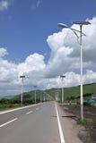 Aer Hulunbeier City, S203 Highway Hot Springs Road Royalty Free Stock Image