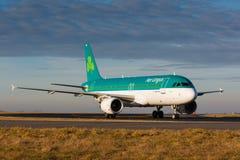 A20 Aer Lingus photographie stock libre de droits