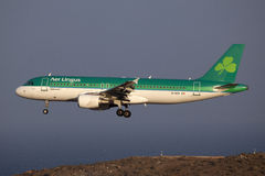 Aer Lingus Airbus A320 Stock Photography