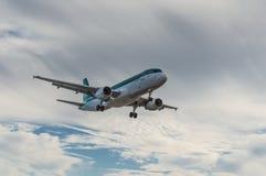 Aer Lingus Aircraf Landing Stock Photo