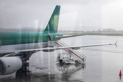 Aer Lingus aircraft stock photo